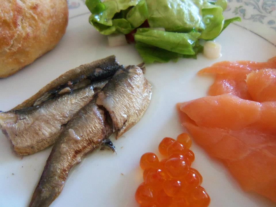 seafood breakfast